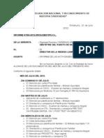 Informe de Actividades Chilahuito Julio 2012