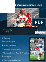 Paul Rabil Communication Plan