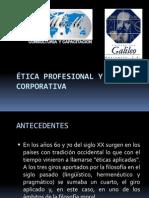ÉTICA PROFESIONAL Y CORPORATIVA