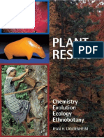 LANGENHEIM Plant Resins Chemistry Evolution Ecology A
