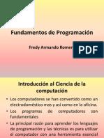 Fundamentos de Programación Parte I
