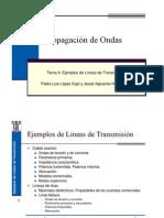 Ejemplos de Lineas de Transmision Cap.4