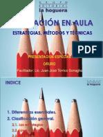 Estrategias, métodos y técnicas ANGLO AMERICANO ORURO