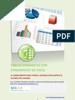 TABLAS DINÁMICAS CON POWERPIVOT DE EXCEL