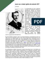 Nikola Tesla - Louco ou o maior gênio do século XX?