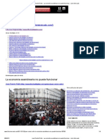 Juan Ramón Rallo - La economía asamblearia no puede funcionar - Libre Mercado