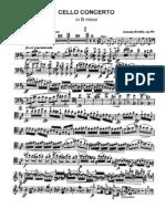Dvorak Cello Concerto (Cello Part)