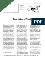 Tank Tilapia Production