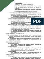 CLASIFICACIÓN DE SOCIEDADES