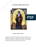 Akathist to Saint Anthony the Great
