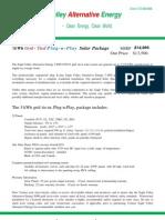 5 Kwh Plug N Play Solar Panel System