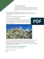 Biodegradable vs No Biodegradable