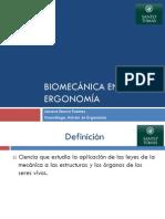 Biomecanica en Ergonomia