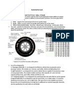 Assignment - Atomobile Tyre