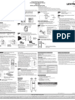 Leviton VRCZ1 Installation Manual and Setup Guide