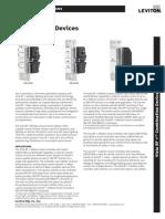 Leviton VRCZ4-MR, VRCS4-MR, And VRC52-MR Product Specifications