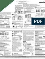 Leviton VRF01-1LZ Product Manual and Setup Guide