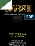 (1) Pengantar Filsafat Ilmu-09