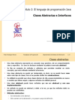 Cap3 PDP Java Abstract Class Interface