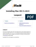 Reinstalacion Macbook Air