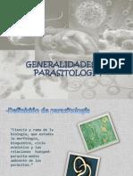 Tema Nº1 Generalidades de Parasitologia