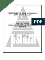 Minit Mesyuarat Bil 5 2012