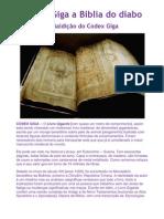 Codex Giga - A Biblia Do Diabo