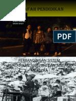 Perbandingan Sistem Pendidikan Sebelum Dan Selepas Merdeka