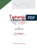Tamandua - Vocal Score by João MacDowell