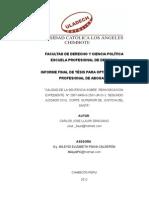 Informe Final de Tesis Enviado a La Comision