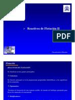 Reactivos y Flotacion