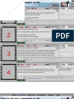 how to install a computer storyboard