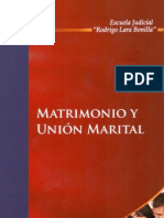 Matrimonio y Union Marital - Colombia