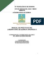 Manual LAB Organica II 2010 Agosto-Diciembre