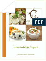 Learn to Make Yogurt eBook