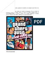 Trucos de Gta Vice City