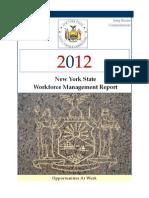 2012 Workforce Management Report