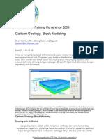 Geologic Block Modeling Ind