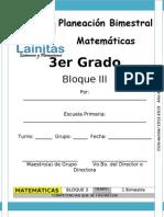 3er Grado - Bloque 3 - Matemáticas.doc