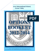2012 IGCSE Options Booklet