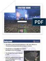 USTA Strategic Vision Plan
