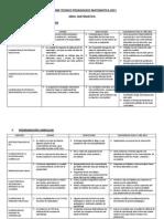 Informe Tecnico Pedagogico Matematica 2011-Roca