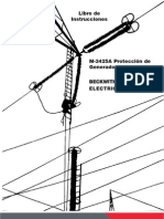 M-3425A-Libro de Instrucciones de Proteccion Del Generador
