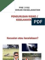 Pengurusan Risiko Keselamatan