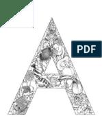 Alfabeto Animales Coloring Book