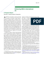 Modernizing and Enhancing BEA's International Economic Accounts