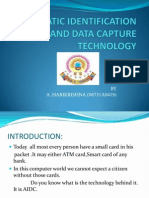 Automatic Identification and Data Capture Technology