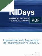 Implementacion de Arquitecturas de Programacion en NI LabVIEW