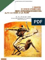 Programa v Encuentro de Estudios Afroamericanos