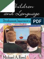 Children Language Development Impairment Amp Training